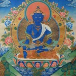 Đức Phật Bất Động - A Súc Bệ - Akshobya Buddha