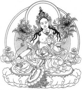 Đức Tara Xanh - Hóa thân phối ngẫu Vajrakilaya