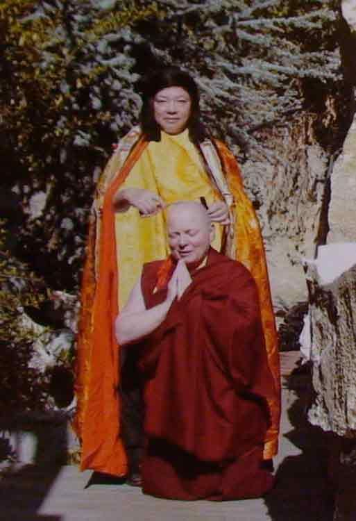 Đức Zhaxi Zhuoma Rinpoche 2