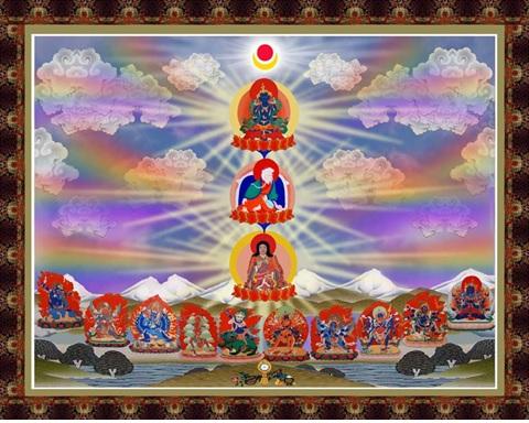 Cây Quy Y Dòng Truyền Thừa Của Đức Phật Kim Cương Trì III 1