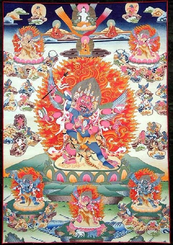 Vajrakilaya - Kim Cang Phổ Ba 8
