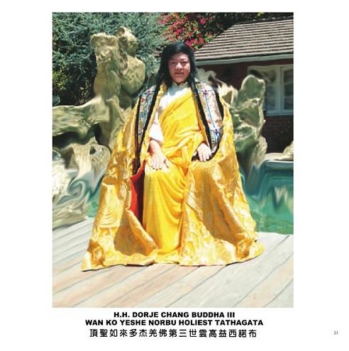 Đức Phật Kim Cương Trì III 1