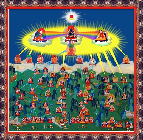 Giới Thiệu Tóm Lược Về Đức Phật Kim Cương Trì Đời Thứ III 7