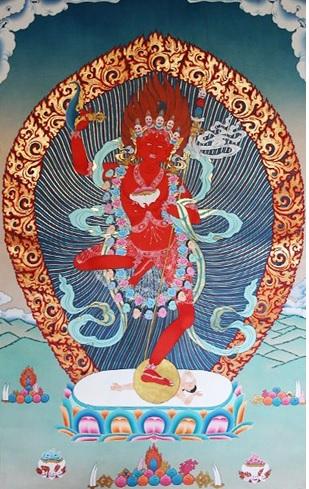 Nữ pháp vương Dorje Amang Nopu Pa Mu 1