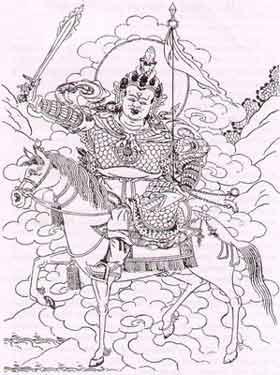 7. Tshangs Pa or 'White Brahma' ( Phạm Thiên Trắng ) 2