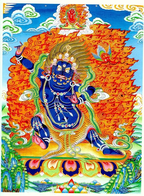 Kim Cương Thủ Bồ tát - Vajrapani 1