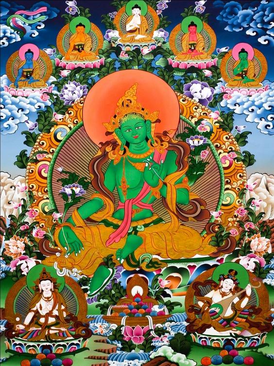 Giới thiệu về Đức Tara Xanh (Lục Độ Phật Mẫu Tara) 1