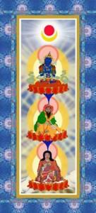 Bài cầu thỉnh tới ba vị Tổ sư vĩ đại của dòng Truyền thừa Phật Tông 1