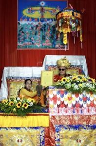 Thông cáo về Lễ xác nhận Tulku cho Sangbo Tenzin Lama 10