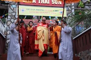 Thông cáo về Lễ xác nhận Tulku cho Sangbo Tenzin Lama 3