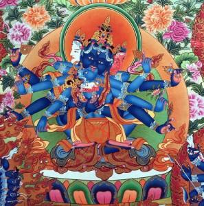 Đức Bí Mật Tập Hội Kim Cương - Guhyasamaja Vajra