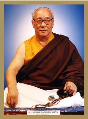 Tiểu sử của Thánh Sư Jigdal Dagchen Sakya 1